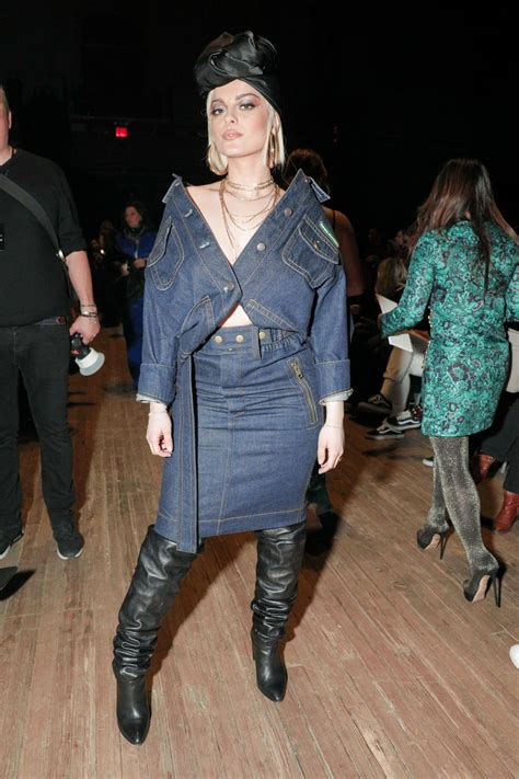 Kalung Fashion Marc Jacob 5 bebe rexha at marc fashion show at nyfw in new york 02 14 2018 hawtcelebs
