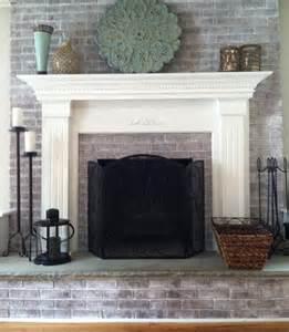 Whitewashed Fireplace by Photos Of Whitewashed Fireplaces