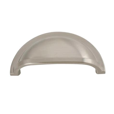 Stainless Steel Cup Drawer Pulls by Hickory Hardware Hh P3055 Ss 3 In Williamsburg Stainless
