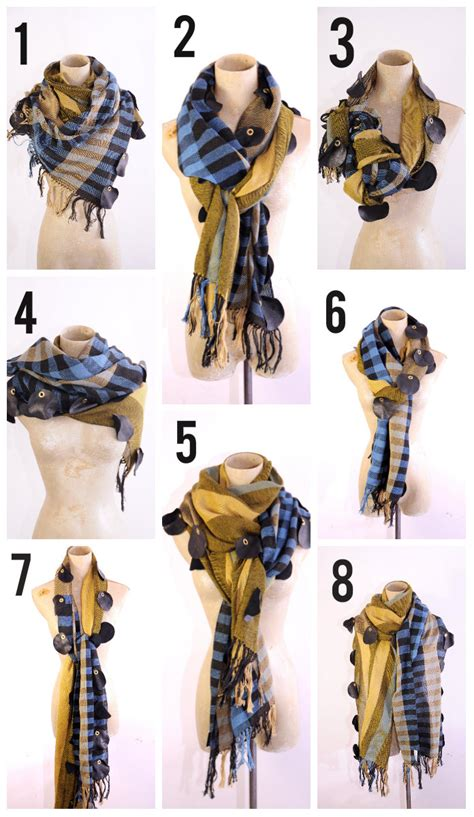 8 ways to wear a scarf this winter start your collection