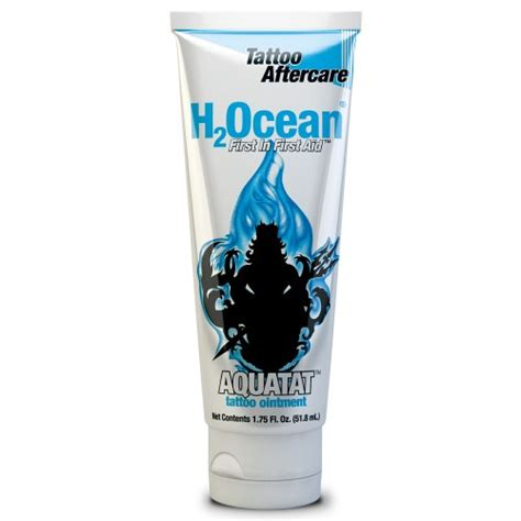 h2ocean tattoo ointment h2ocean aquatat tattoo ointment