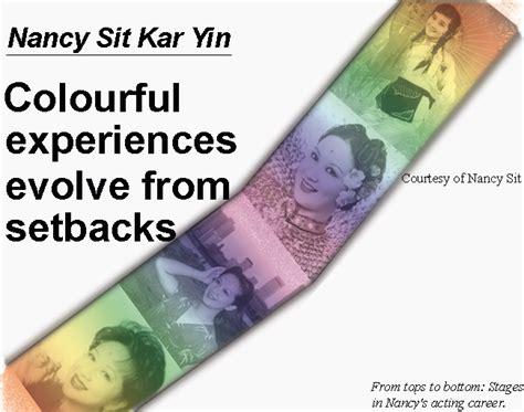 hong kong veteran actress nancy sit nancy sit