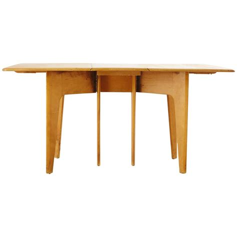 heywood wakefield drop leaf dining table for sale at 1stdibs