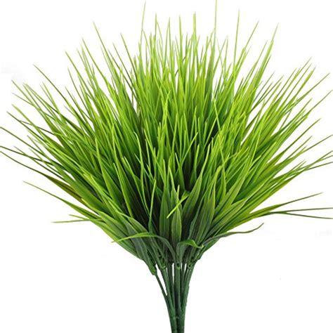 artificial plants hogado 4pcs faux plastic wheat grass fake leaves shrubs ebay