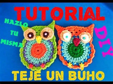 instrucciones para tejer buhos aprende a tejer b 250 ho owl crochet tutorial youtube