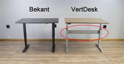 Cross It Help Desk by Bekant Vs Vertdesk V3 Which Is The Better Standing