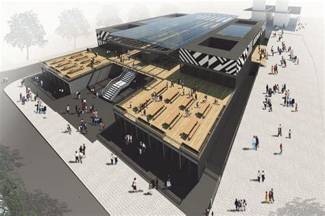 Draw Floorplan bdp to design boxpark croydon bdp com