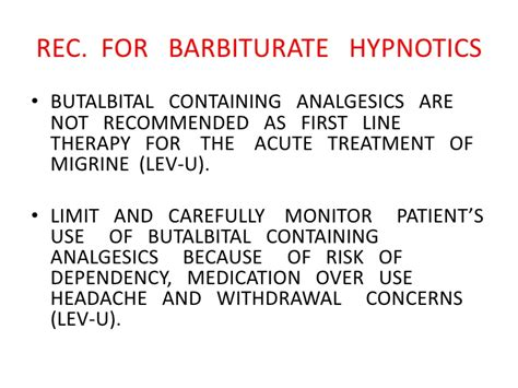 Butalbital Detox Withdrawal by Primary Headache