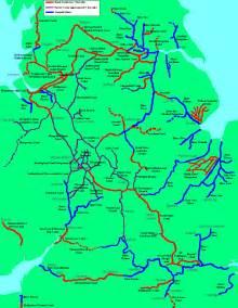 waterways map inland waterways of wales map