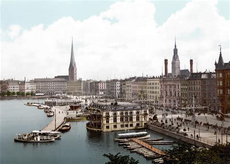 in hamburg file hamburg jungfernstieg 1890 1900 jpg wikimedia commons