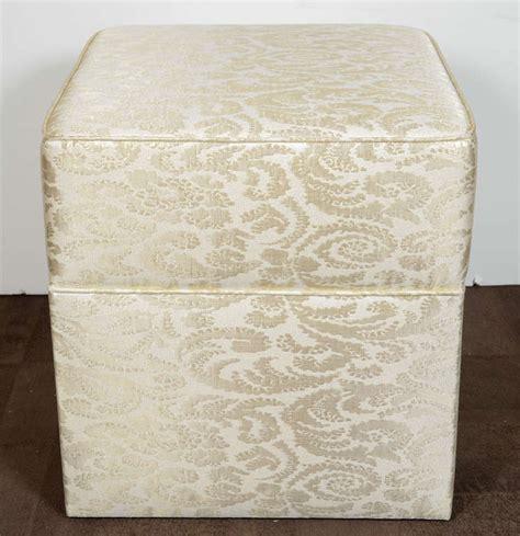 Vanity Ottoman by Regency Upholstered Ottoman Or Vanity Stool At