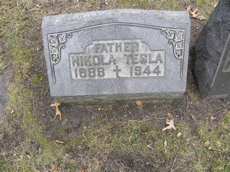 Where Is Tesla Buried Nikola Tesla 1888 1944 Find A Grave Memorial