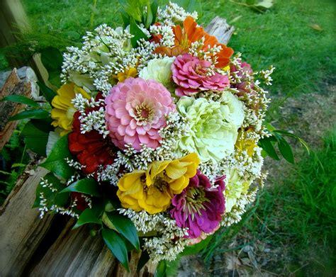 flowers planets zinnia flower bouquet