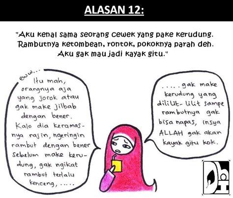 Busana Muslim Jilbab Kerudung Bergo Java 7 Hdn 957 Tr Kom Rajut Abu catatan indah alasan gak berjilbab