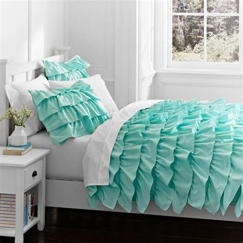 blue ruffle bedding best 25 mermaid bedding ideas on pinterest mermaid room