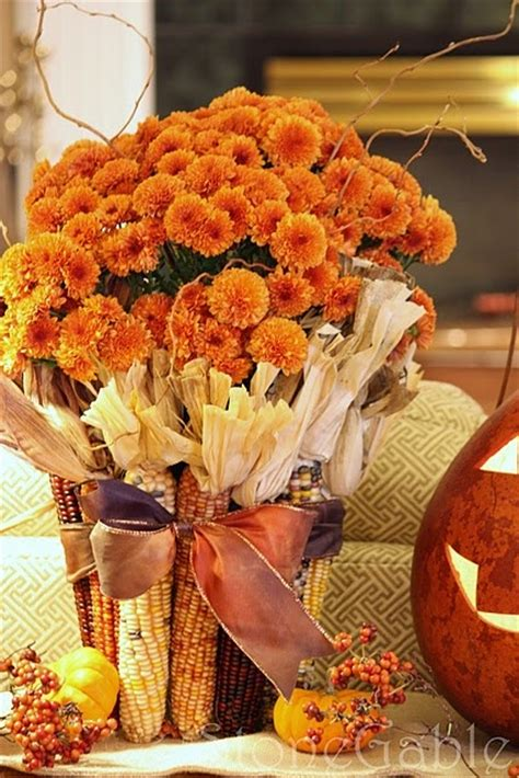 fall flower decorations 50 cool fall flowers d 233 cor ideas for your home digsdigs