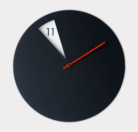 contemporary modern wall clocks freakishclock wall clock by sabrina fossi design