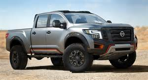 Nissan Titan Concept Nissan Titan Warrior Concept The Titan Xd On Steroids