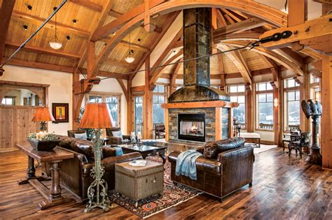 timber frame great room lighting lighting options for your timber frame home