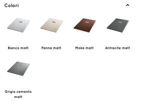 grandform piatto doccia ardesia piatto doccia ardesia matt grandform 120x80 in 5 colori