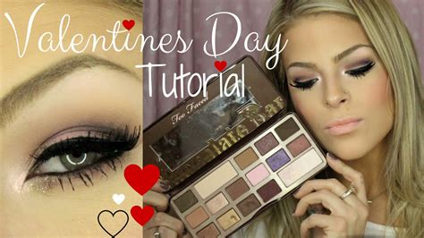 tutorial makeup pac valentines day makeup tutorial using two faced chocolate