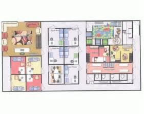 floor plan of office pb j pediatricians