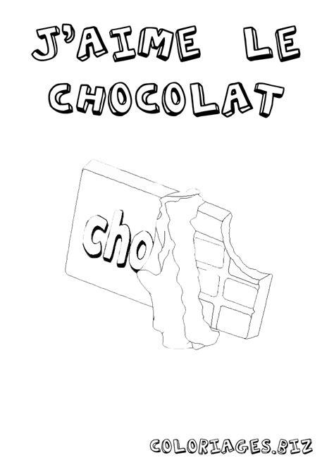 Coloriage Coloriage Chocolat Gratuit Aliments Et Cuisine