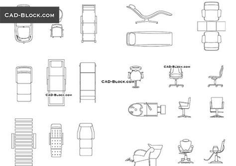 designer chairs cad blocks   autocad file