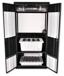 cfl cabinet grow deluxe 3 0 hps grow cabinet supercloset