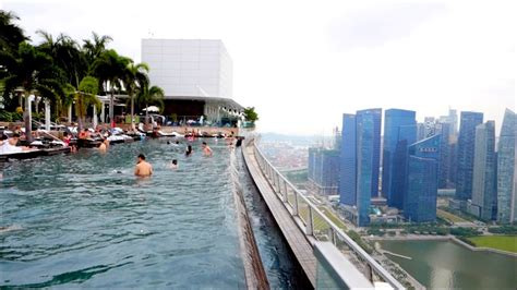 singapore skypark pool sands marina bay hotel