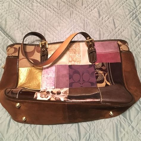 Coach Purse Patchwork - 47 coach handbags patchwork coach purse from