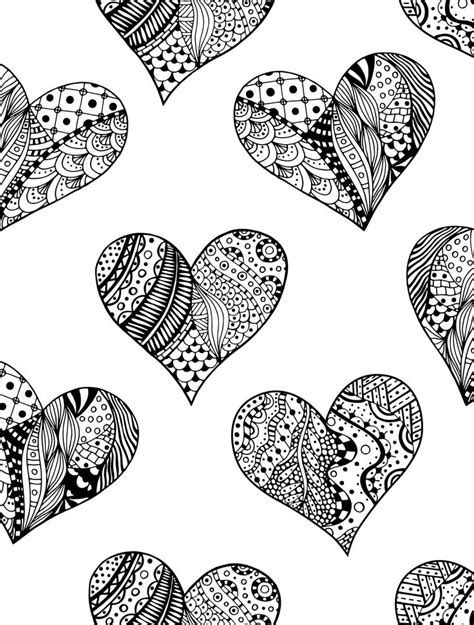 advanced valentine coloring pages 20 free printable valentines adult coloring pages