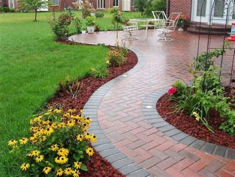 home depot garden edging stones garden lawn edging ideas