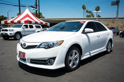Certified Pre Owned Toyota Camry Certified Pre Owned 2014 Toyota Camry Se 4dr Car In