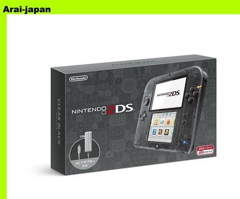 2ds console nintendo 2ds console clear black japan