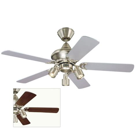 kingston ceiling fan with maple or silver blades 78065 163
