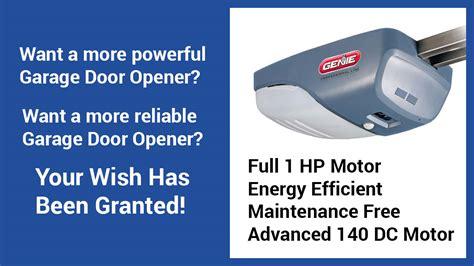 Genie Garage Door Opener Customer Service by Genie Intellig 1000 Garage Door Openers Repair Install