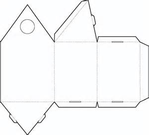 Triangle Packaging Template by February 2012 Free Box Templates Store