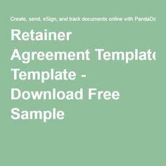 25 Best Retainer Agreement Ideas On Pinterest Investigator Retainer Agreement Template