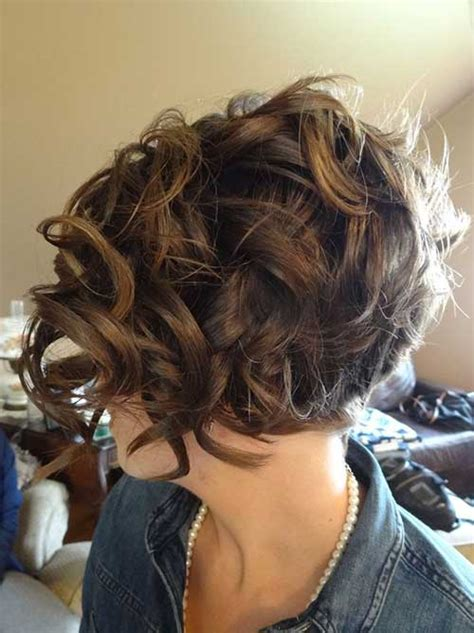 back view wavy short bob for thick hair 2015 15 short haircuts for curly thick hair short hairstyles