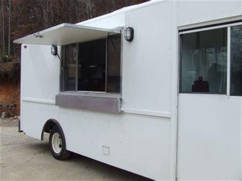 food truck window design advanced concession trailers