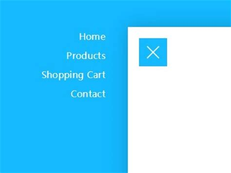 material design menu jquery material design inspired reveal navigation with jquery and
