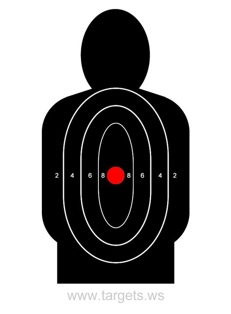 Shooting Target Template Targets Print Your Own Shooting Targets Dentonjazz Com Shooting Target Template