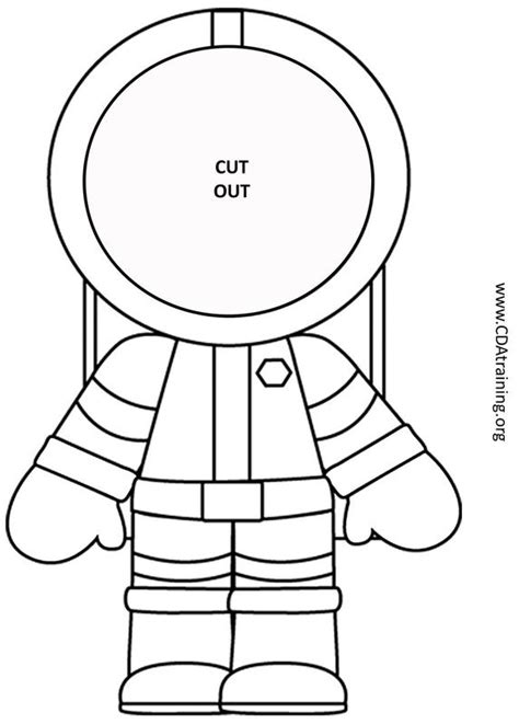 astronaut hat coloring page astronaut photo craft 123 play and learn child care