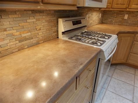 Concrete Overlay Counters Tile Backsplash Rapid City Sd Concrete Kitchen Countertops