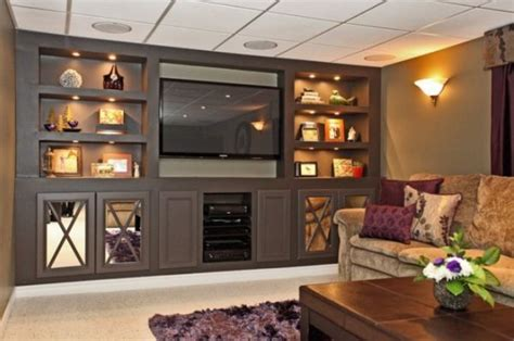 Basement Wall Ideas Not Drywall by Built In Furniture Advantages And Things To Consider