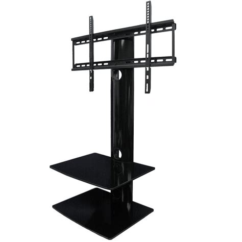 shelves wall mount tv wall mount with shelf 2 shelves tv mounts av express