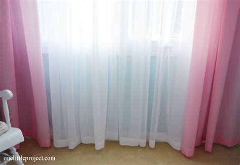 behind the pink curtain how to hem curtains and sheers