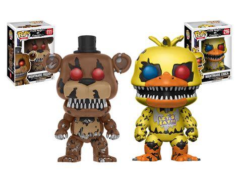 Pop Five Nights At Freddy S 2 nightmare freddy y chica funko pop five nights at freddy s