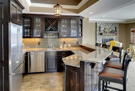 built in wet bar cabinets with basement wet bar basement contemporary with 14 sawn oak
